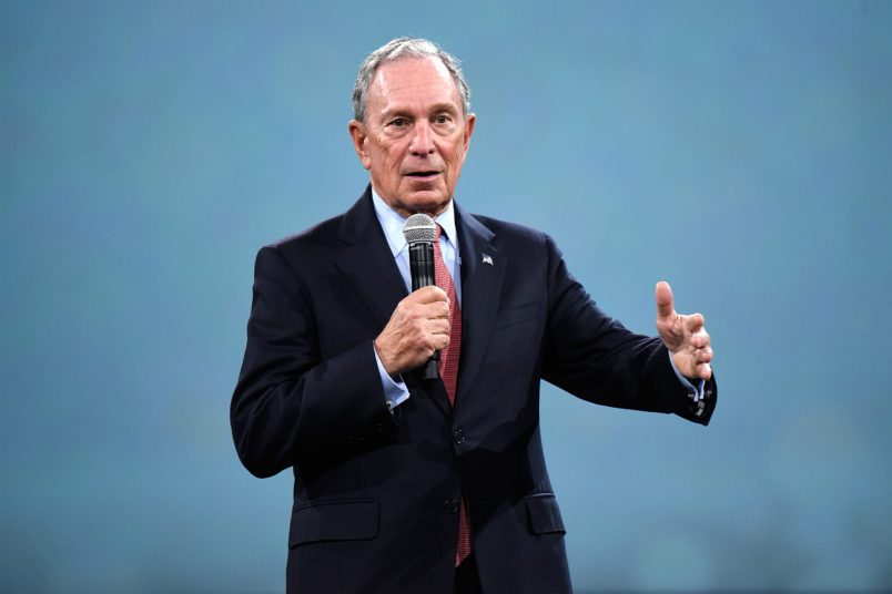 Michael Bloomberg won't run for president in 2020