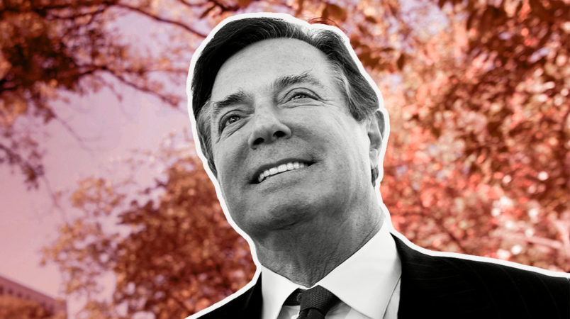 What are the charges against Paul Manafort?