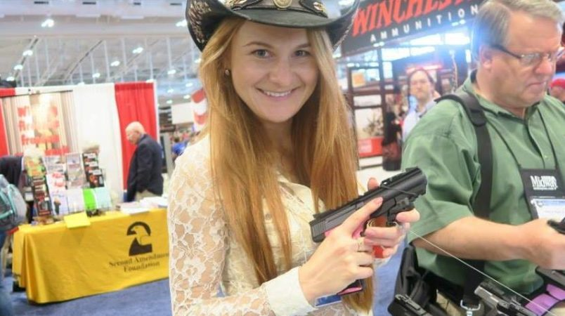 Russian gun activist charged with spying in USA for Moscow