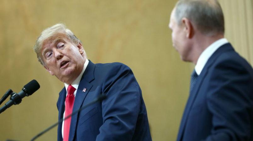 Historic Trump-Putin summit draws backlash