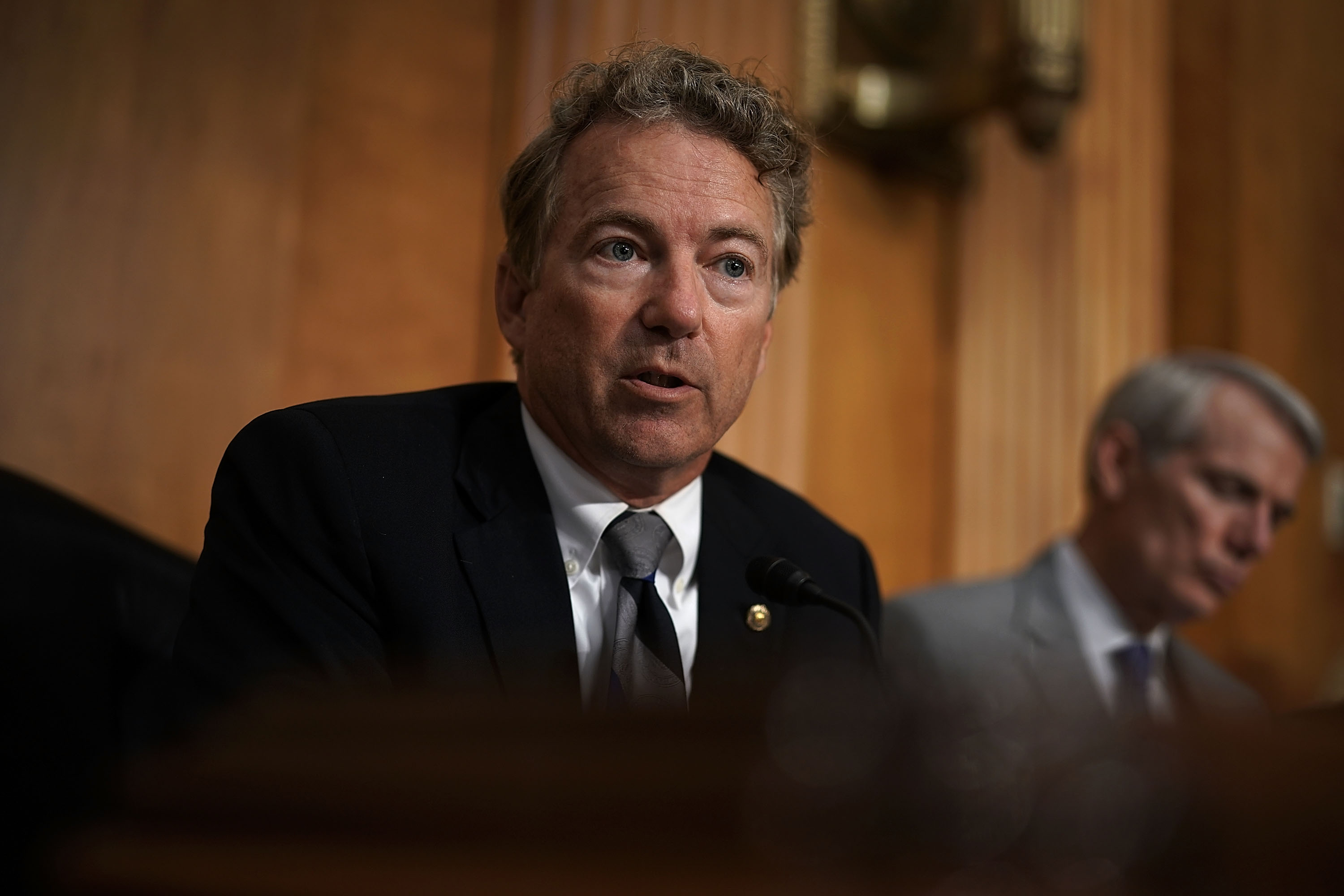 Rand Paul Delivers Trump Letter To Putin