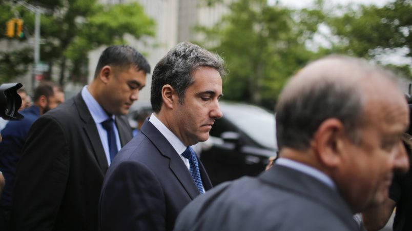 Trump finds it 'inconceivable' Michael Cohen would tape a client