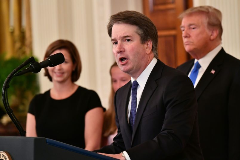 Kavanaugh denies accusations from third accuser, saying they're from 'Twilight Zone'