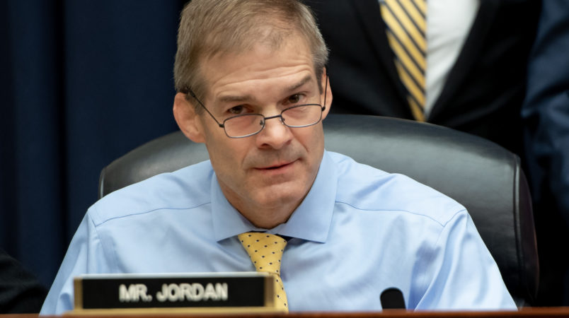 Rep. Jordan Says Ohio State Claims 'Choreographed' by Dems