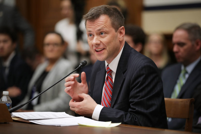 Federal Bureau of Investigation  fires agent Peter Strzok over his 2016 anti-Trump text messages