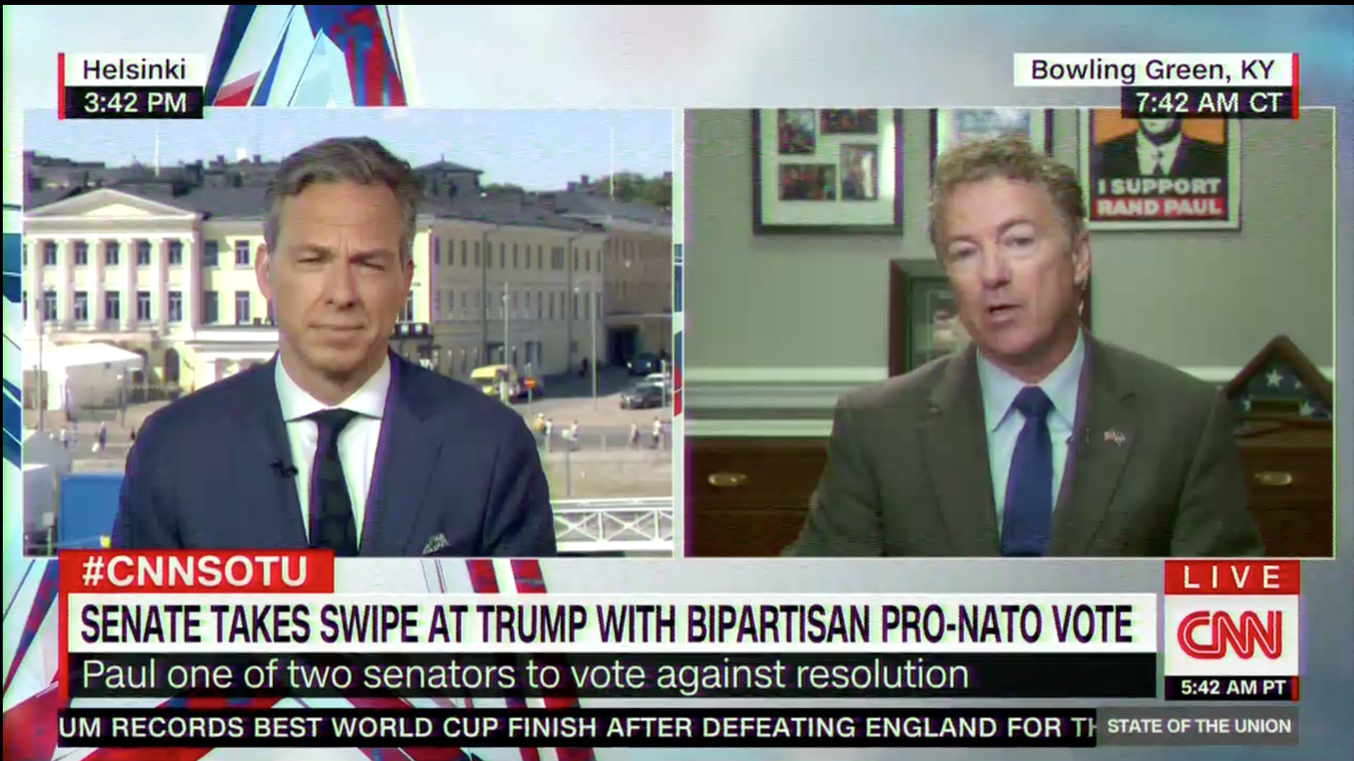 sen rand paul shrugs at russian election interference we all do
