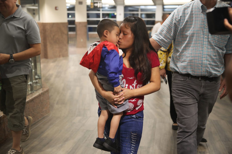 Hundreds of separated parents potentially deported