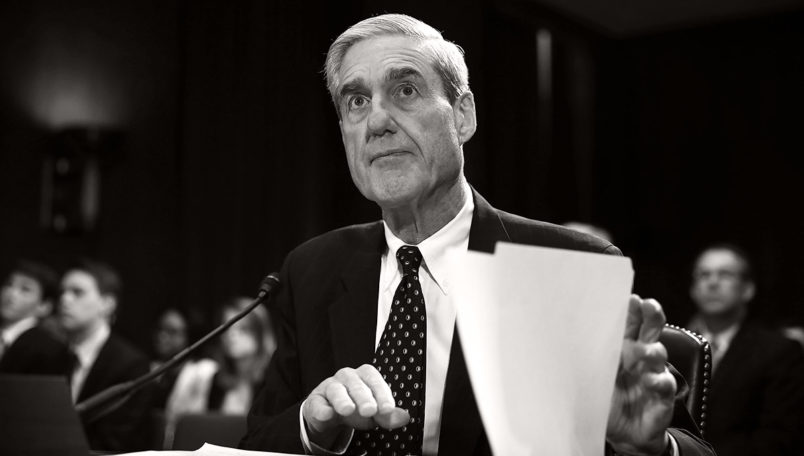 I Answered Mueller's Questions, Not Submitted Them
