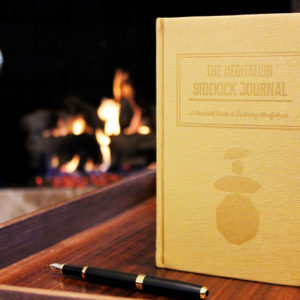 The Meditation Sidekick Journal uses behavioral science to help you track your progress and reap the mental benefits of meditation.