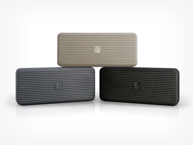 The Soundfreaq Pocket Kick Bluetooth Speaker is portable speaker perfection.