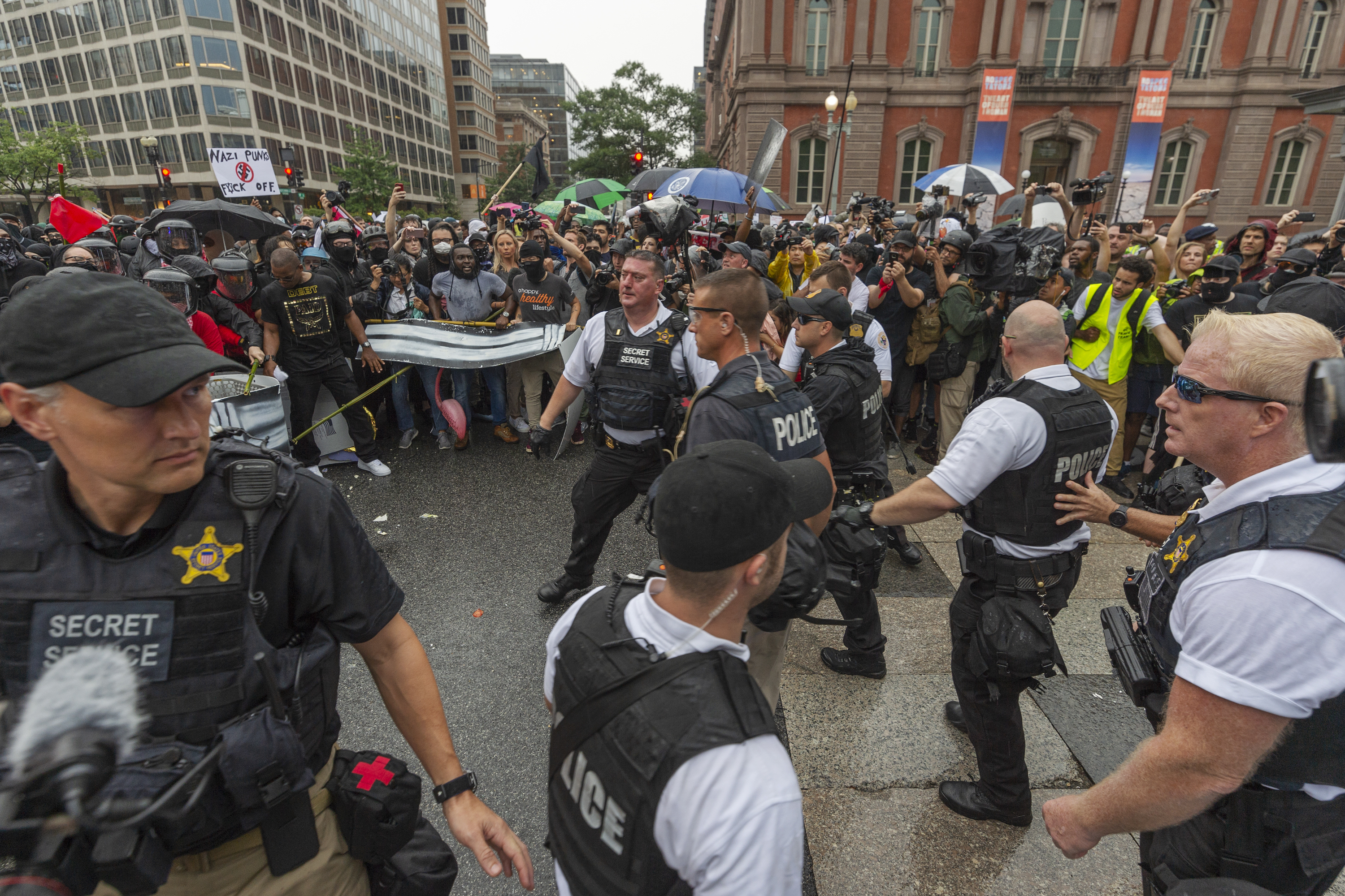 photo image 1 Arrest Made In DC In Charlottesville Protests