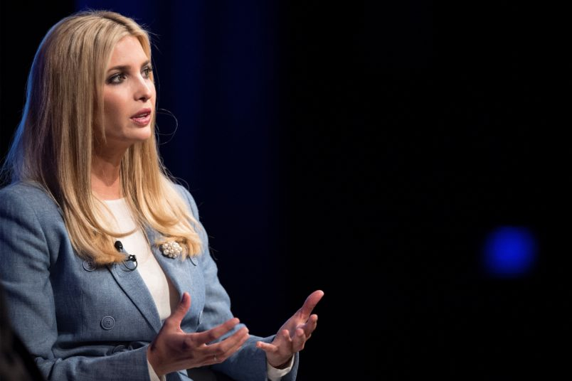 Ivanka Trump speaks out against family separation