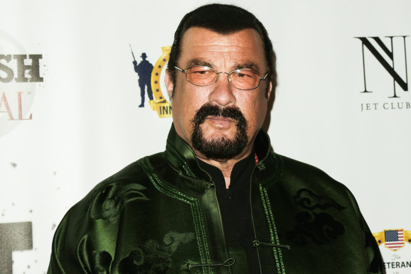 Russia Tasks Hollywood Actor Seagal With Improving U.S. Ties