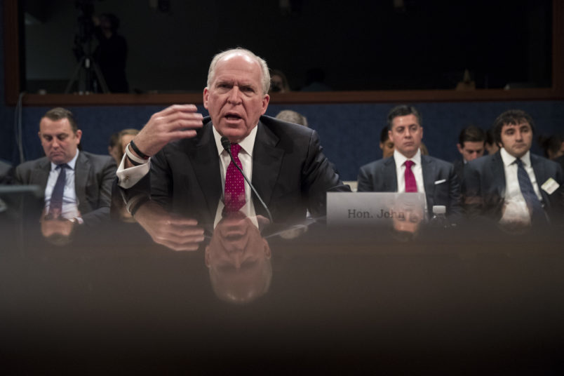 Trump revokes security clearance of former Central Intelligence Agency director Brennan