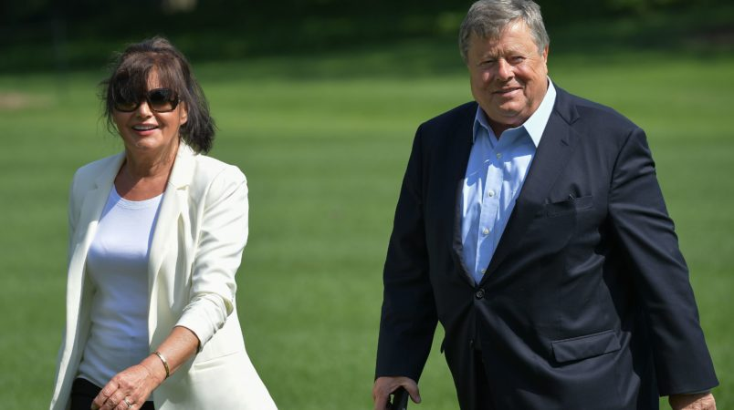 Melania Trump's parents become USA citizens under 'chain migration' system