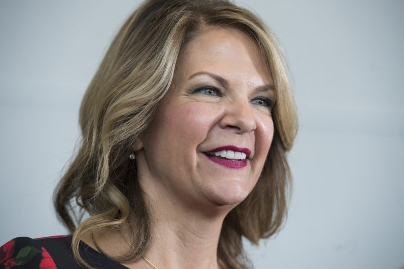 UNITED STATES - FEBRUARY 22: Arizona Senate candidate Kelli Ward attends the Conservative Political Action Conference at the Gaylord National Resort in Oxon Hill, Md., on February 22, 2018. (Photo By Tom Williams/CQ Roll Call)