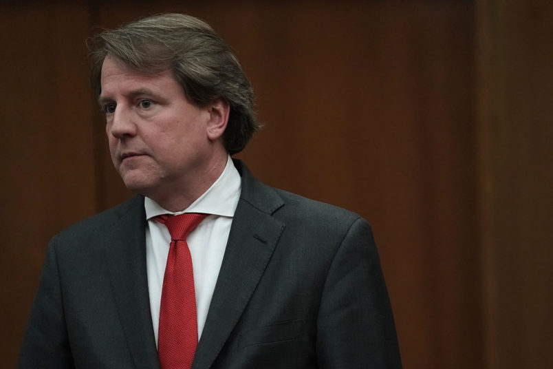 Don McGahn: Donald Trump says White House counsel to depart