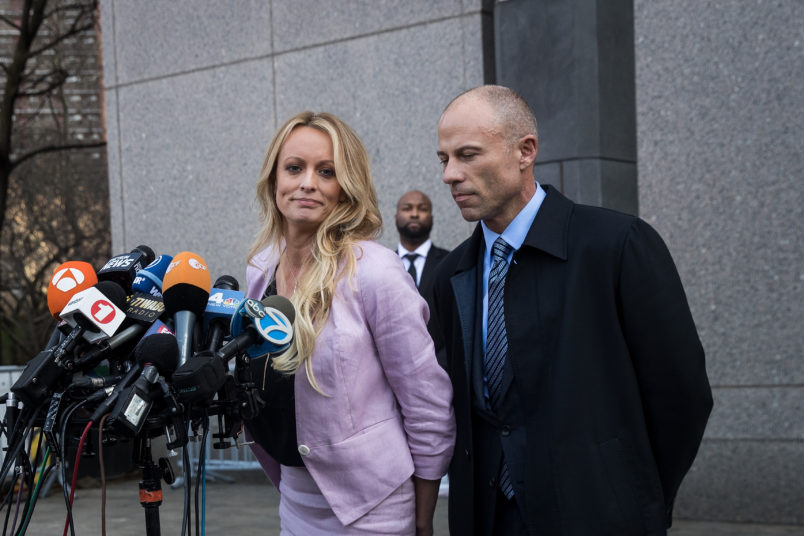 Trump lawyers push to end Stormy Daniels' lawsuit over 'free speech'
