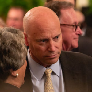 Marc Short, White House director of legislative affairs, attends U.S. President Donald Trump's event celebrating the Republican tax cut plan in the East Room of the White House in Washington, D.C., on Friday, June 29, 2018. (Photo by Cheriss May/NurPhoto)