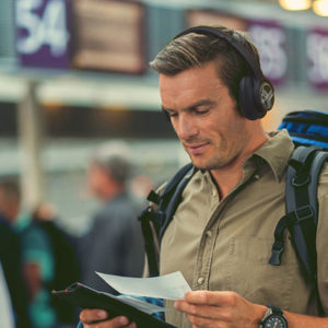 The TREBLAB Z2 Wireless Noise-Cancelling Headphones give you a live concert experience for up to 35 hours of listening, all for less than $100.