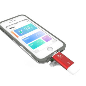 The iKlips II Lightning iOS Flash Drive is a flashy upgrade from old portable drives, with gorgeous colors and more storage options.