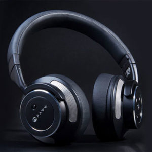 The Paw WaveSound Noise-Cancelling Bluetooth Headphones block out all distractions for a surround-sound experience.