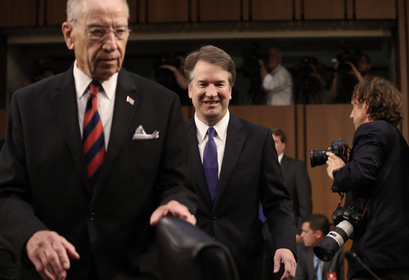 Republicans make counteroffer to Kavanaugh's accuser