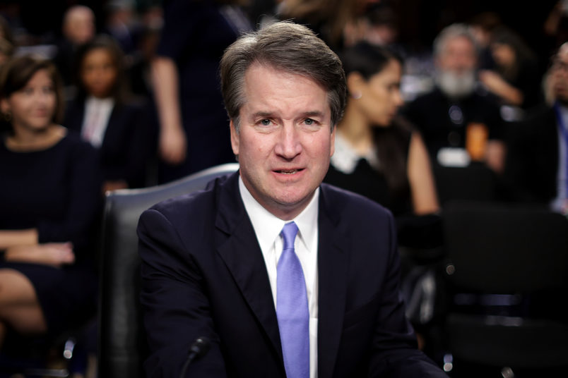 Kavanaugh denies allegation about high school misconduct
