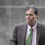WASHINGTON, DC - SEPTEMBER 7: Randy Credico arrives at U.S. District Court, September 7, 2018 in Washington, DC. Credico, a comedian with ties to Roger Stone, was subpoenaed by special counsel Robert Mueller and will testify before the grand jury on Friday. (Photo by Drew Angerer/Getty Images)