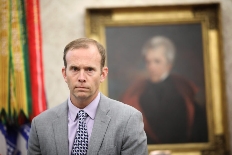 Trump Appointee Brock Long Out As FEMA Chief