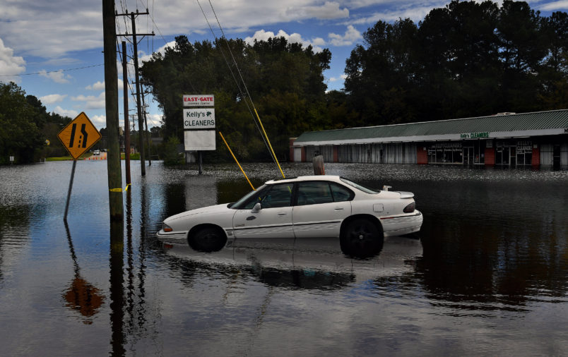 A look at flooding before and after Florence
