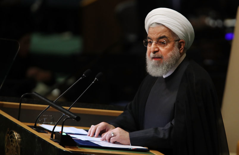 Iran's Rouhani: US headed into isolation after United Nations  meeting