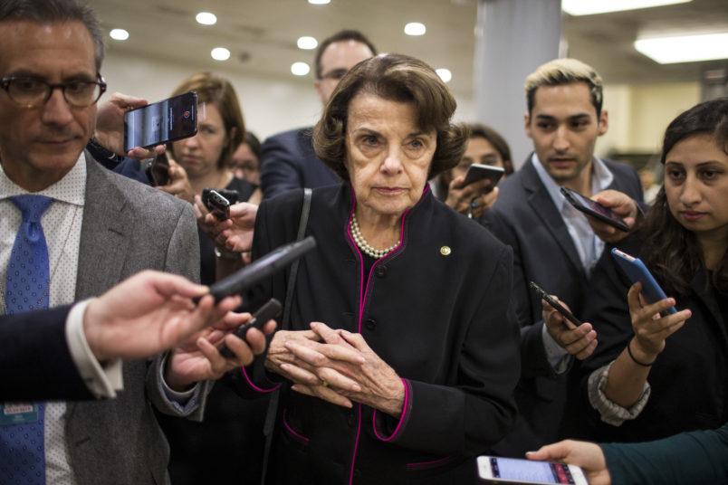 GOP senators demand probe of Feinstein's office after Kavanaugh accusations