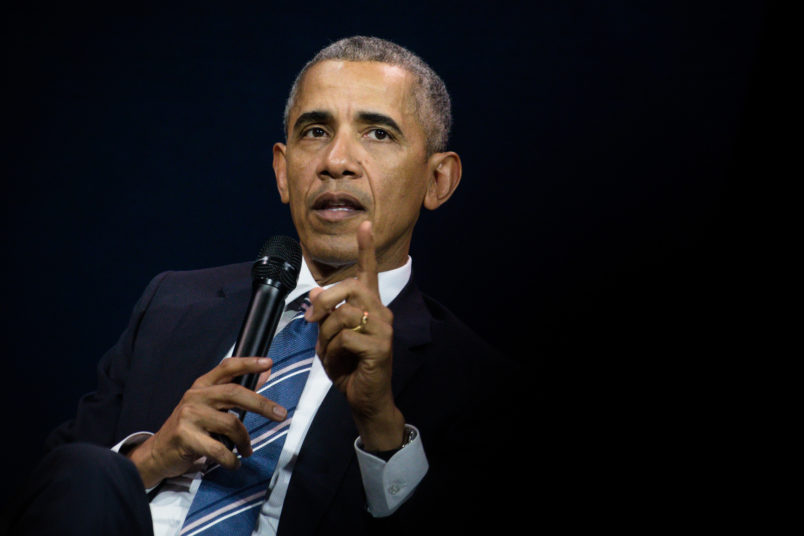Barack Obama encourages people to vote: