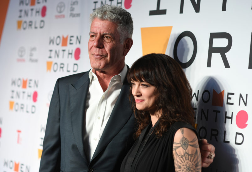 CNN pulls episodes of Bourdain's Parts Unknown featuring Asia Argento