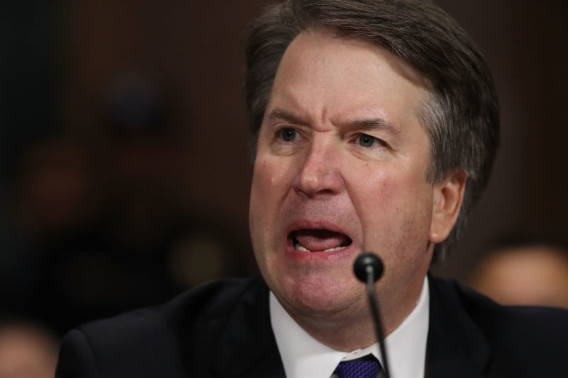 SCOTUS Nominee Kavanaugh Accused of Throwing Ice at Man in 1985
