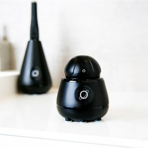 The TAO Clean Sonic Toothbrush & Cleaning Station kills germs on your brush for a cleaner smile.