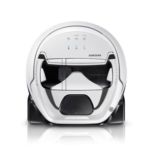 The POWERbot Star Wars Robot Vacuum is a Stormtrooper-inspired home gadget for spotless floors.