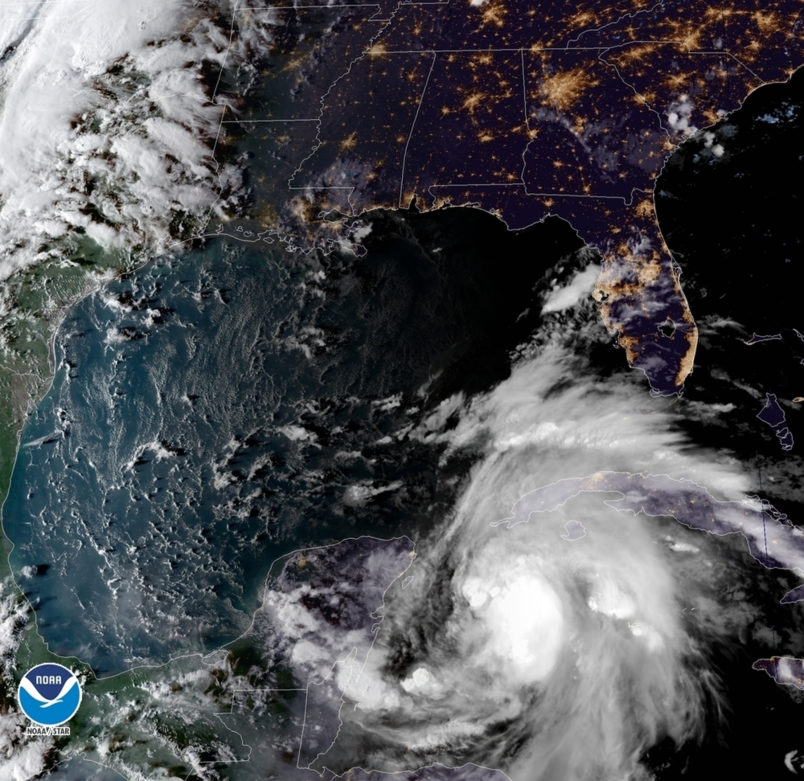 Tropical Storm Nadine becomes 14th named storm of Atlantic hurricane season