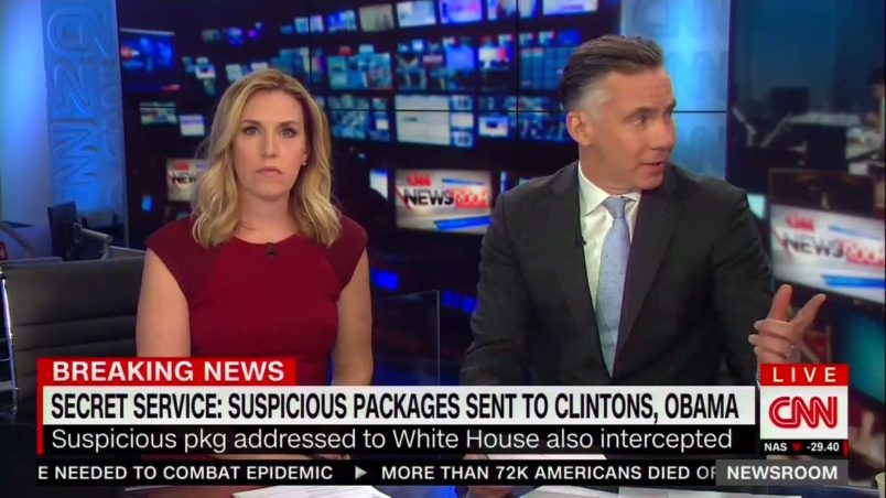 CNN NYC office was removed after suspicious package sent to the network