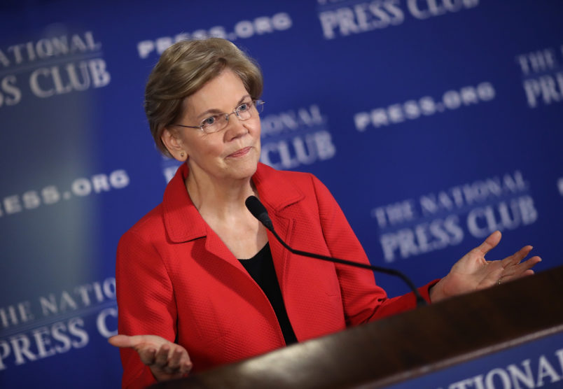 Warren To Trump: Time To Pay Up