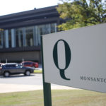A building Q sign at the headquarters of the Monsanto Company, in St. Louis, Missouri on September 23, 2016.
