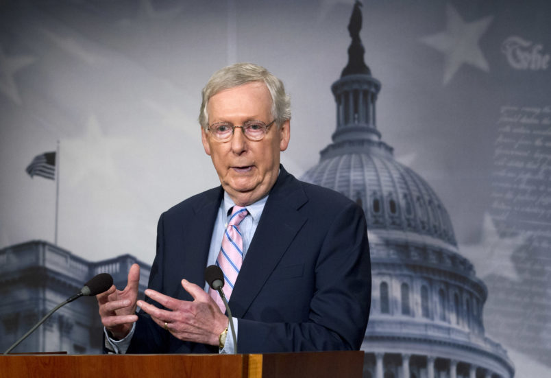 McConnell Thinks Talking About Repealing Obamacare Helps the GOP in the Midterms