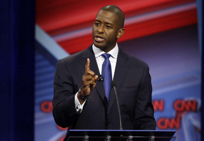 Gillum and DeSantis trade increasingly personal blows during second Florida gubernatorial debate