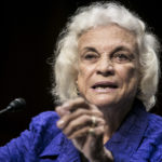 WASHINGTON, DC - JULY 25: Former Supreme Court Justice Sandra Day O'Connor testifies before the Senate Judiciary Committee on July 25, 2012 in Washington, DC. O'Connor spoke to the necessity for civics education in maintaining an independent judiciary. The former associate justice also expressed doubt about the process in some states of electing judges, and about the validity of asking Supreme Court nominees how they would vote in the future.(Photo by T.J. Kirkpatrick/Getty Images)