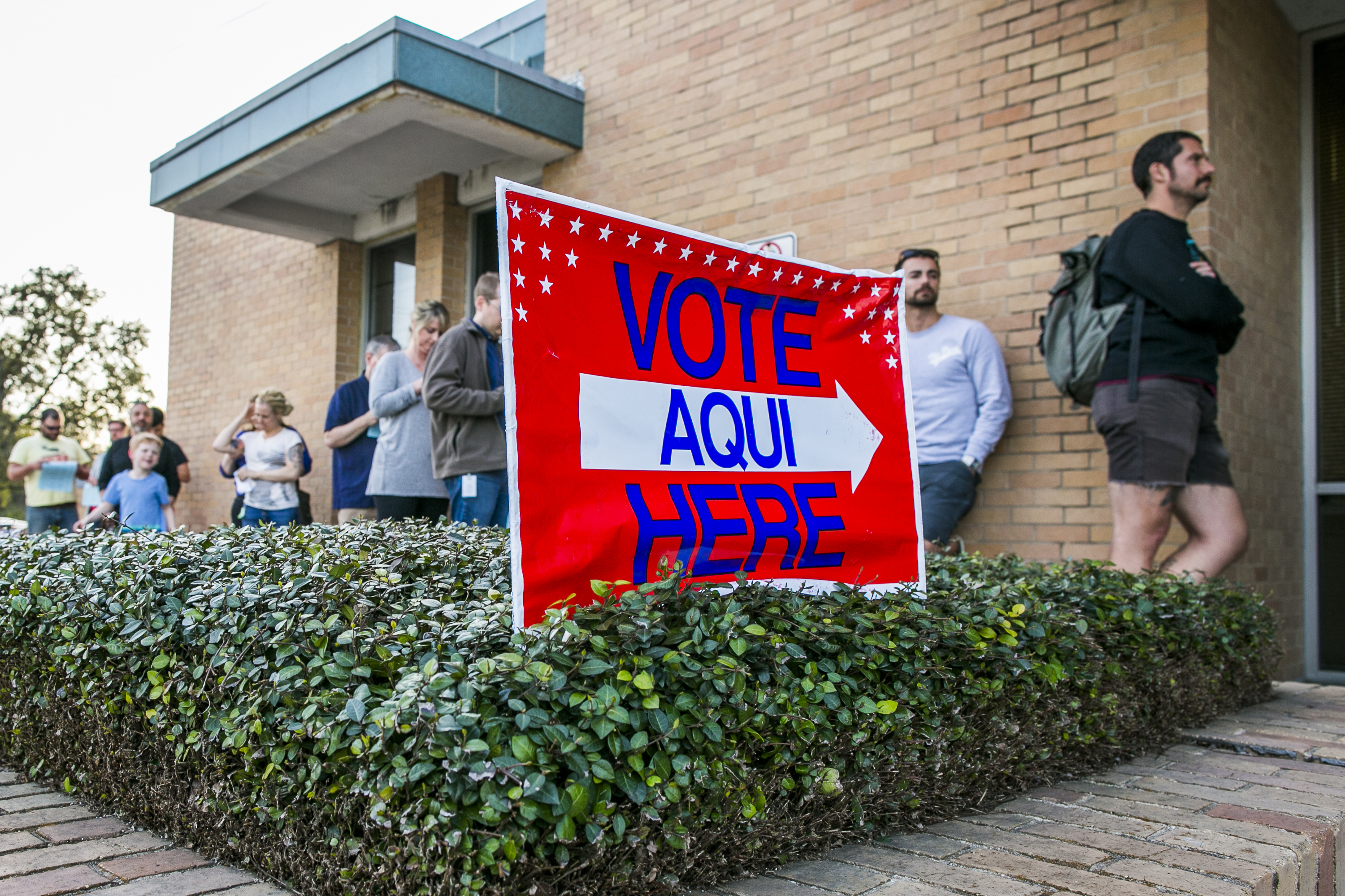 Voter registration around Austin broke records but it could be a problem
