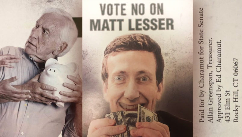 9th Senate District candidate says attack ad is Anti-Semitic