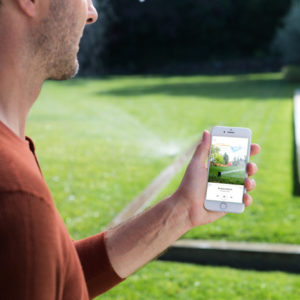 The Rachio 3 Smart Sprinkler Controller uses artificial intelligence to help keep your lawn watered — and it comes with a free Google Home Mini.