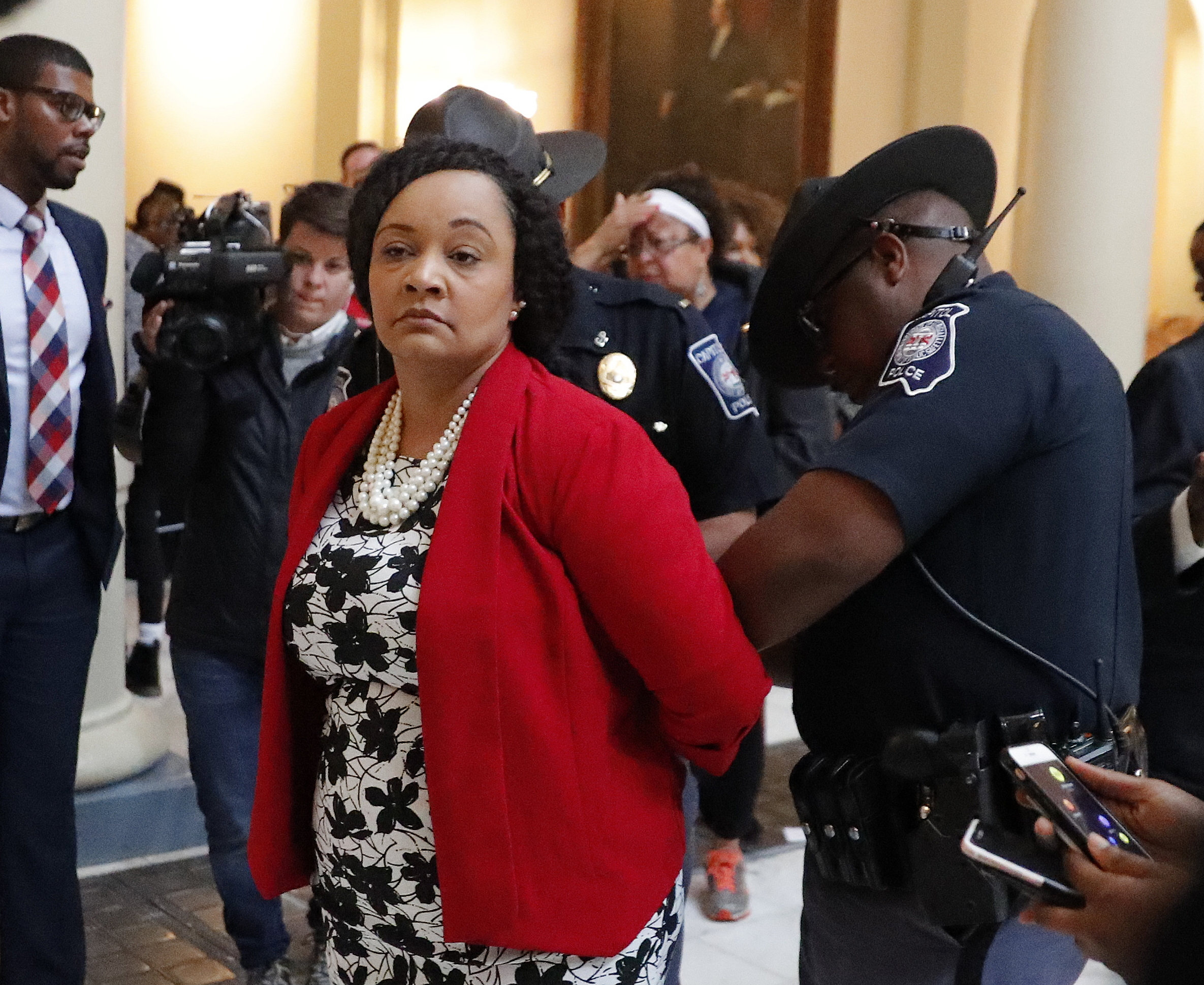 Dem Georgia Senator Arrested At State Capitol Protest