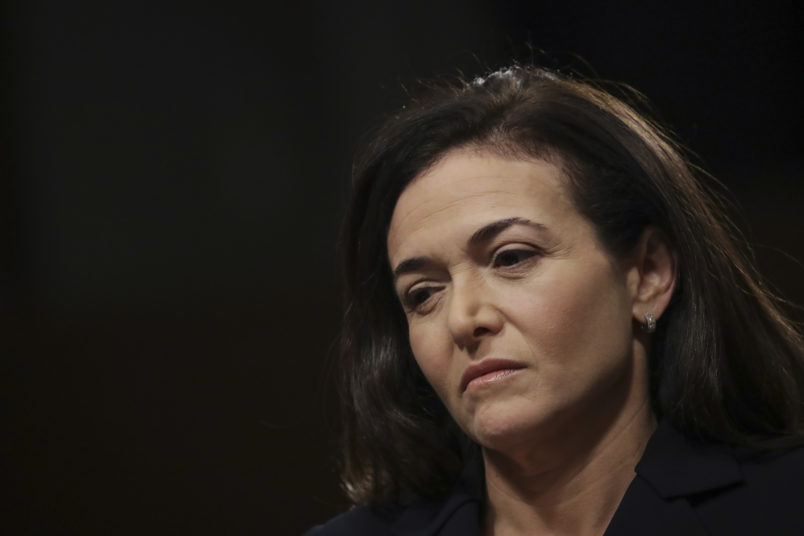 Latest Facebook controversy puts heat on number two Sandberg